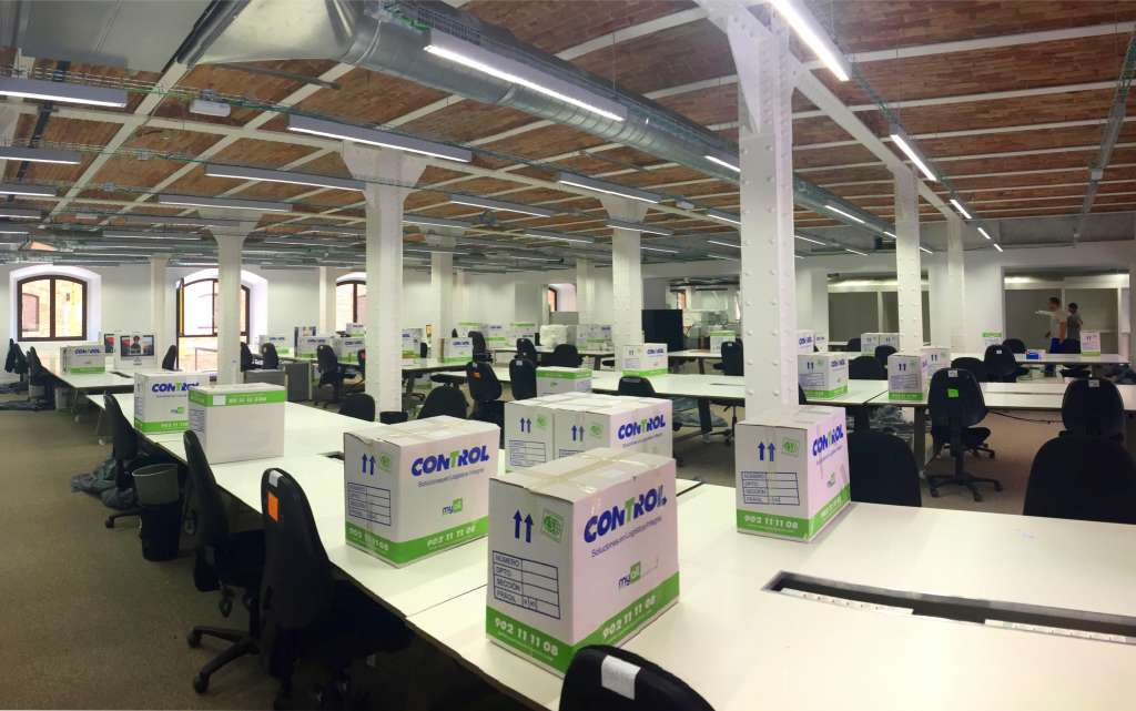 Office Move Palau de Mar