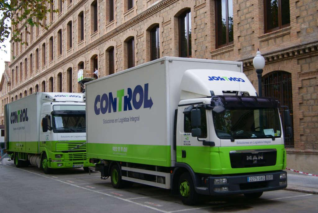 Mudanzas Barcelona con Control - Empresa de Mudanzas eficaz