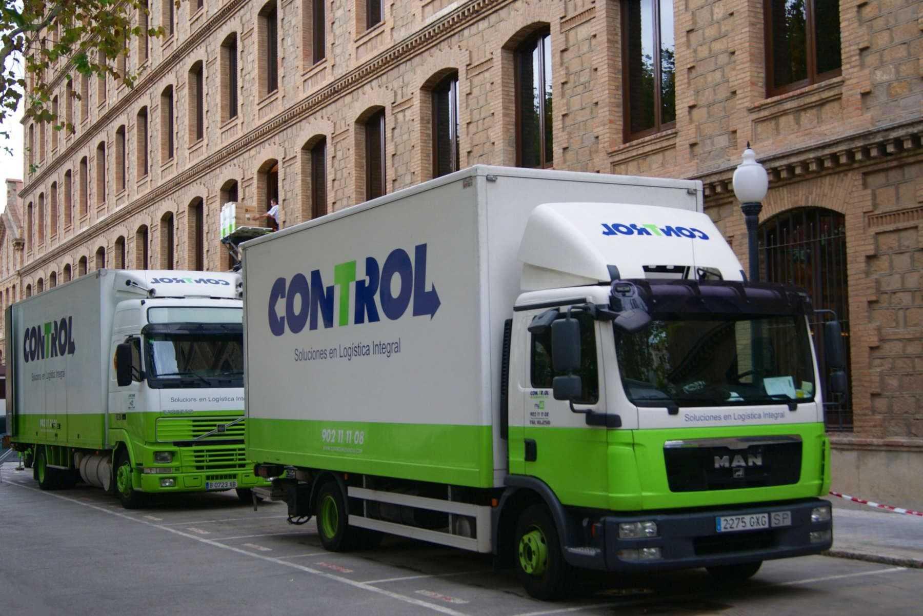 Camiones Mudanzas Barcelona