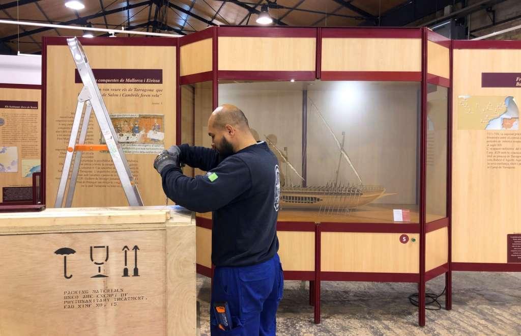 Trasllat Museu Port Tarragona